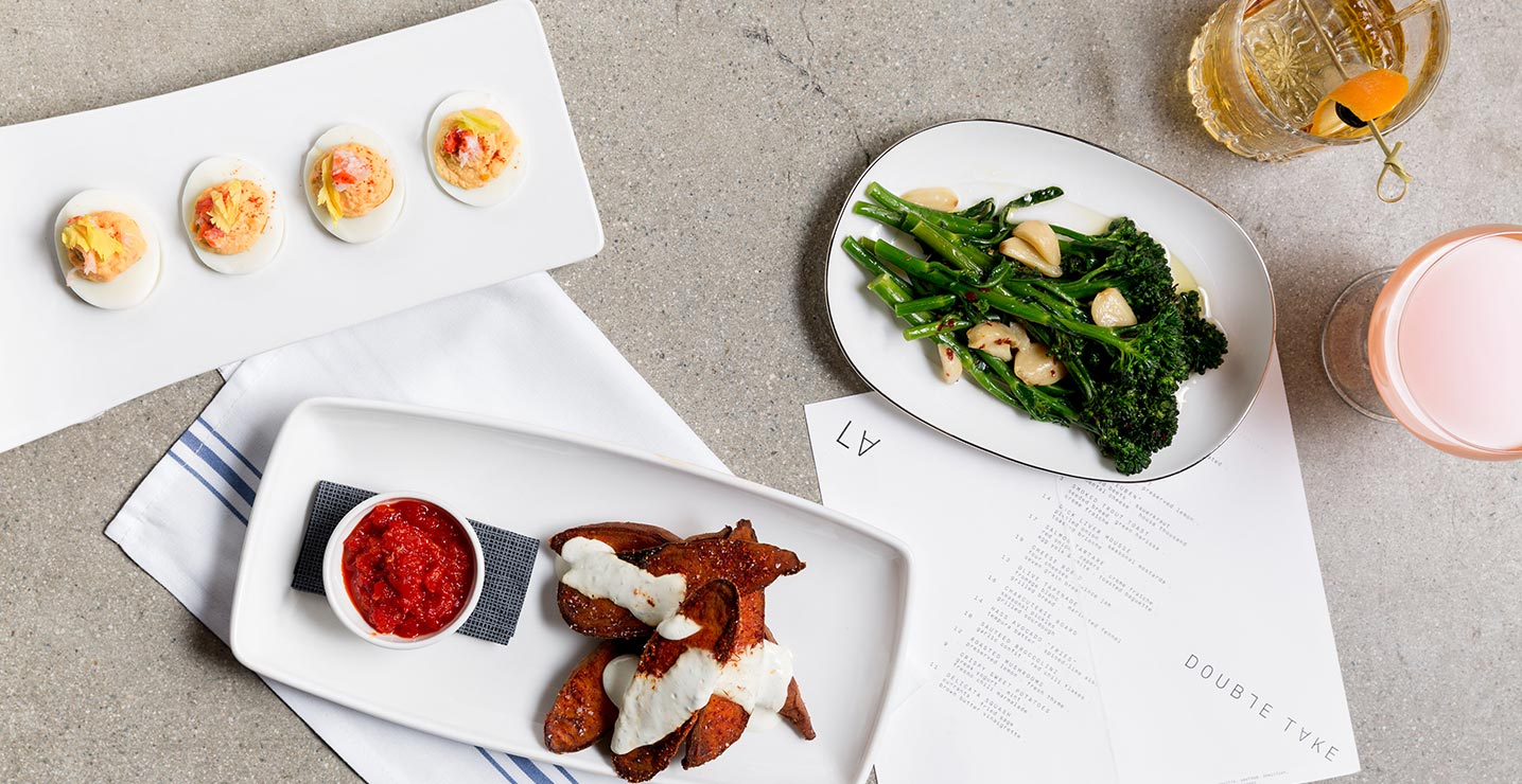kimpton los angeles double take la restaurant food drinks